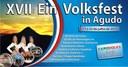 Agudo se alegra e espera a todos na Volksfest