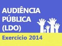 Audiência Pública sobre o LDO 2014