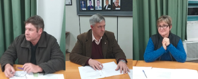 Auro Kirinus, Rosa e Pedrinho Müller assumem mandatos