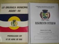 Emenda à Lei Orgânica promulgada e lançada a revisão do Regimento Interno