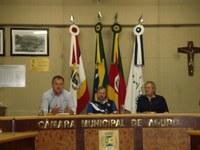Prefeito presta contas do exercício de 2014 em Sessão Especial