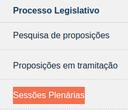 Sessões Plenárias não serão transmitidas durante o período eleitoral