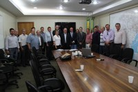 Vereadores participam de audiência com Secretario de Estado